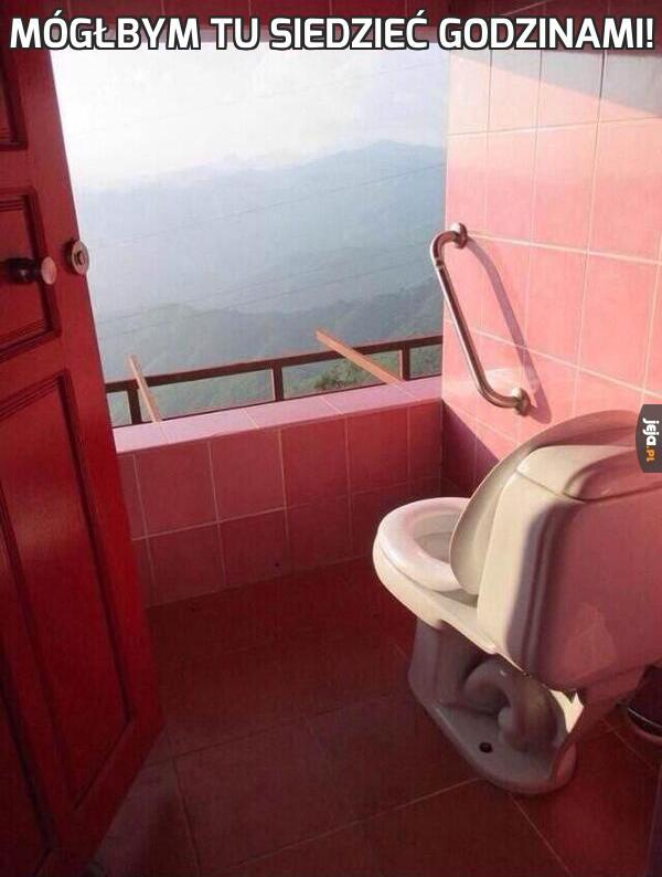 Mógłbym tu siedzieć godzinami!
