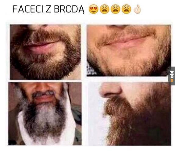 Faceci z brodą
