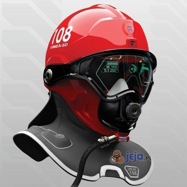 Prototyp nowego hełmu strażackiego