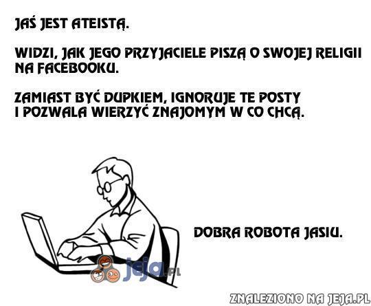 Jaś ateista