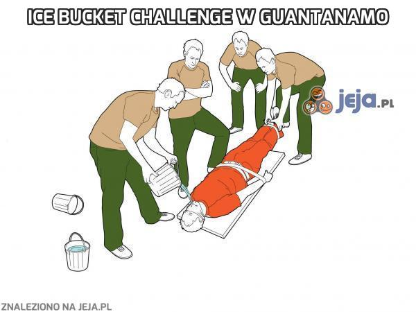 Ice Bucket Challenge w Guantanamo
