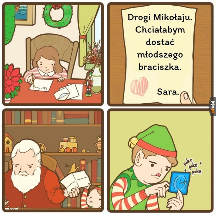 Mikołaj spełnia życzenia