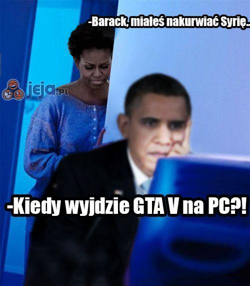 Nawet Obama czeka...