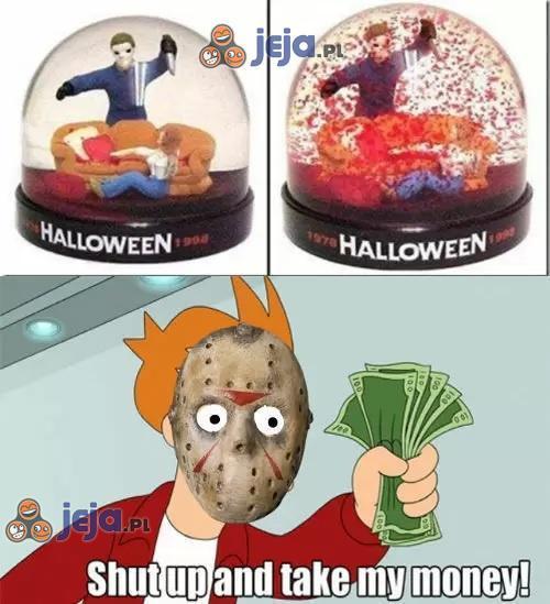 Szklana kula na Halloween