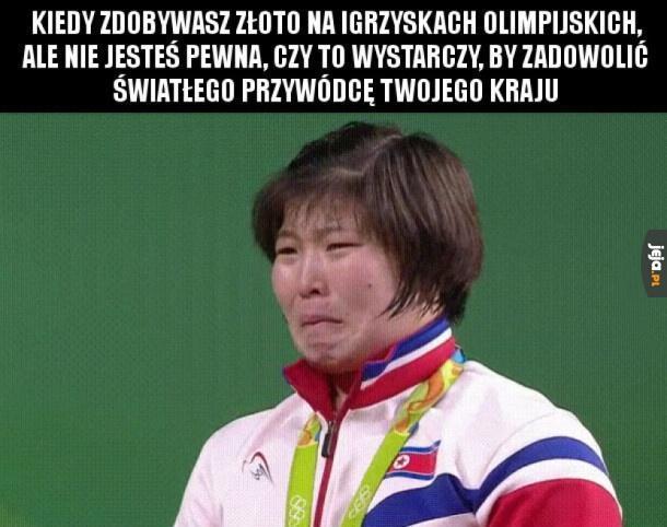 Medal dla Korei Północnej