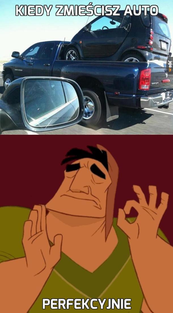 Kiedy zmieścisz auto