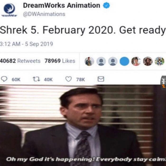 Nie mogę się doczekać