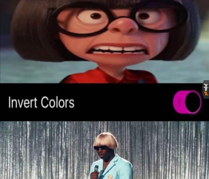 Zamiana kolorów
