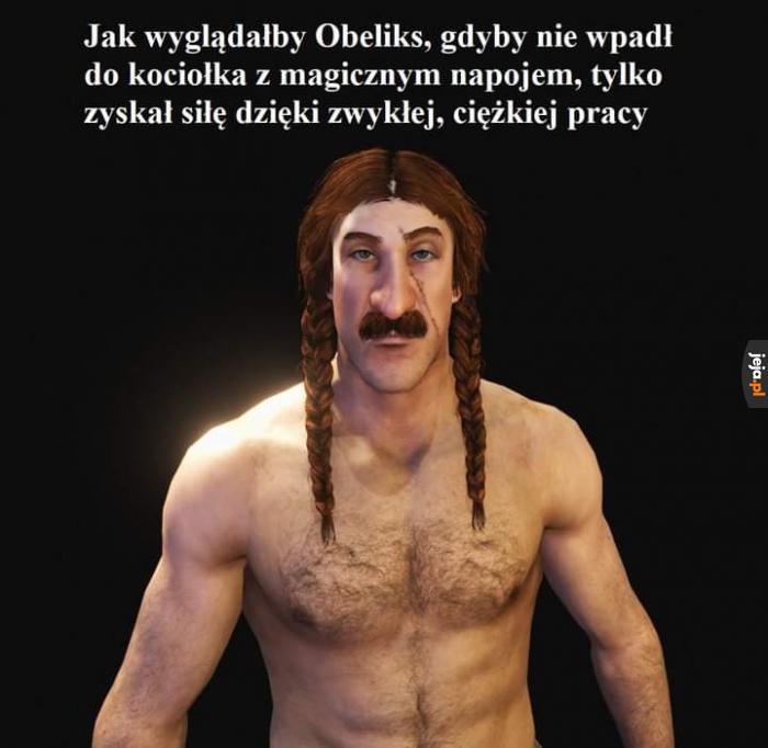 Obelix strongman