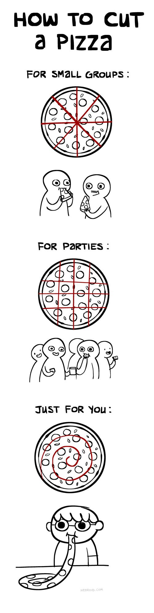 Jak jeść pizzę?