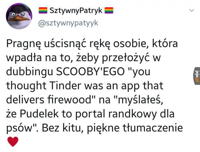 Takie tłumaczenia to ja rozumiem