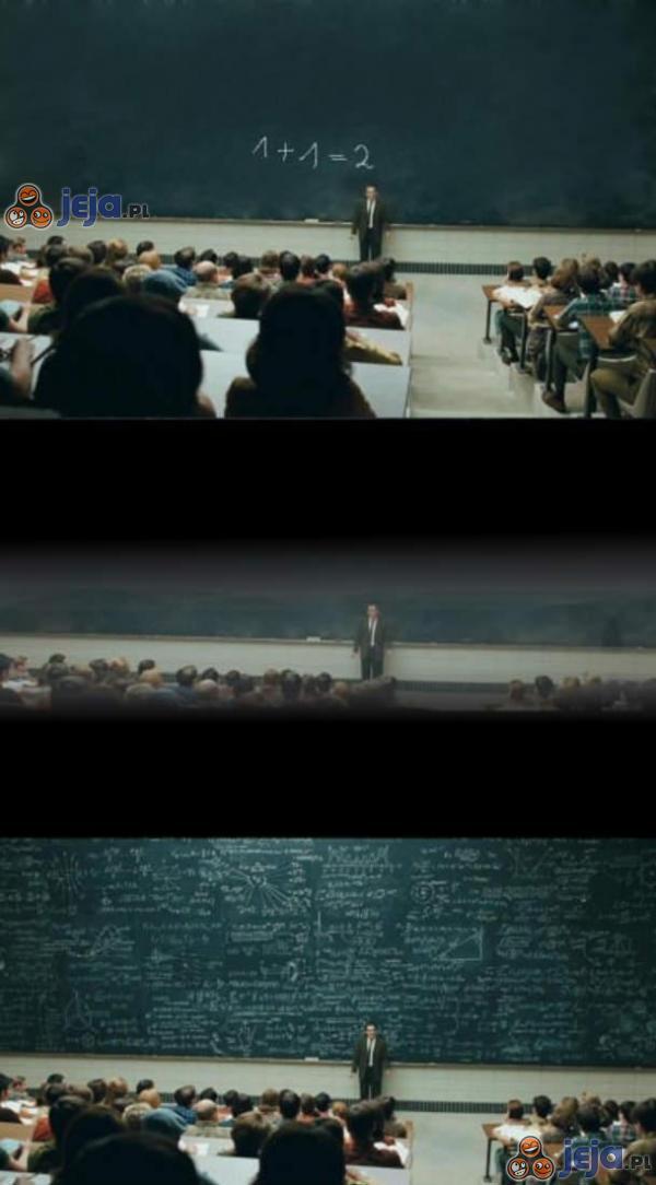 Nie zasypiaj na wykładzie