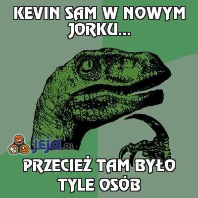 Kevin sam w Nowym Jorku...