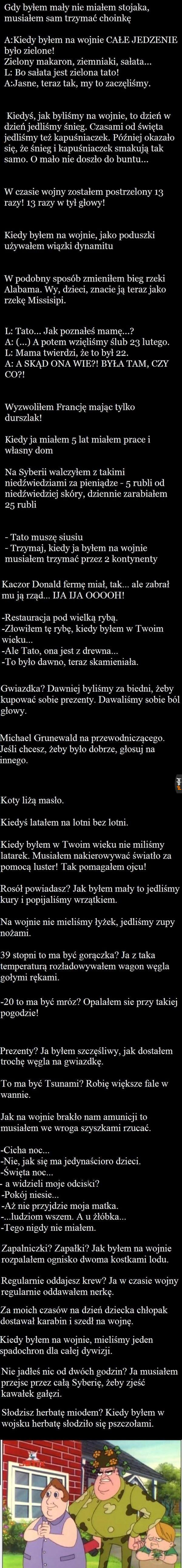 Najlepsze teksty taty Ludwiczka