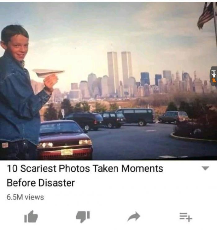 10 najstraszniejszych zdjęć zrobionych tuż przed tragedią
