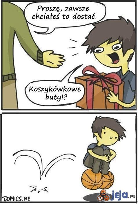 Upragniony prezent