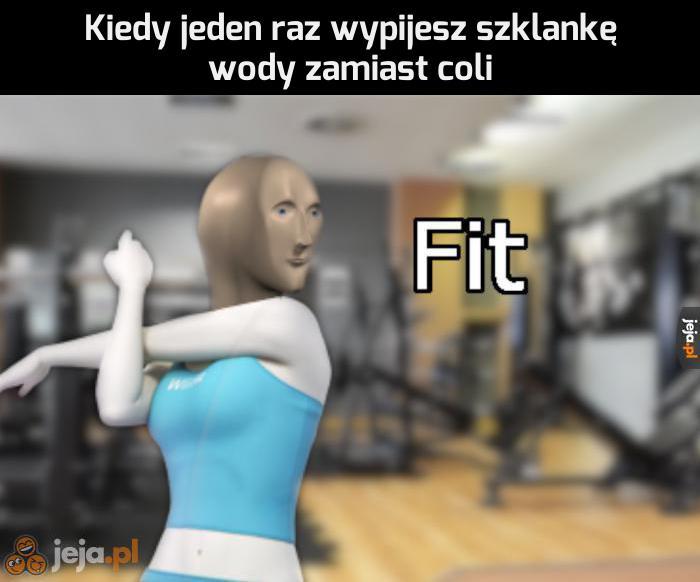 Jestem fit jak nikt