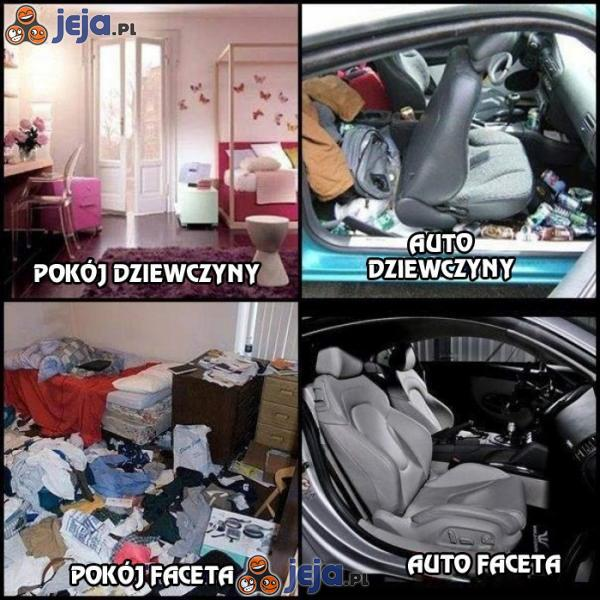 Pokój i auto
