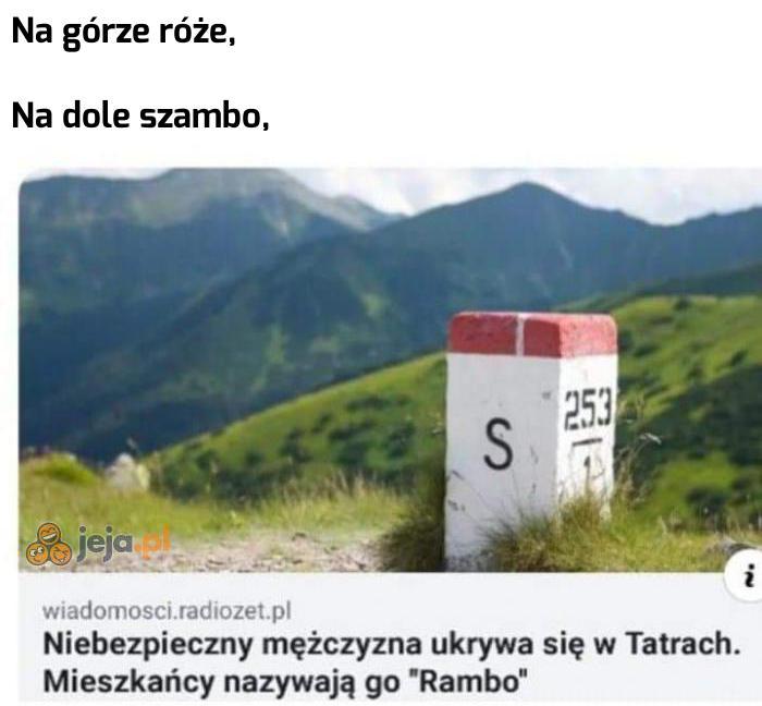 Tatrzański Rambo