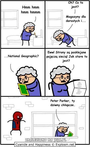 Lepka tajemnica Spidermana