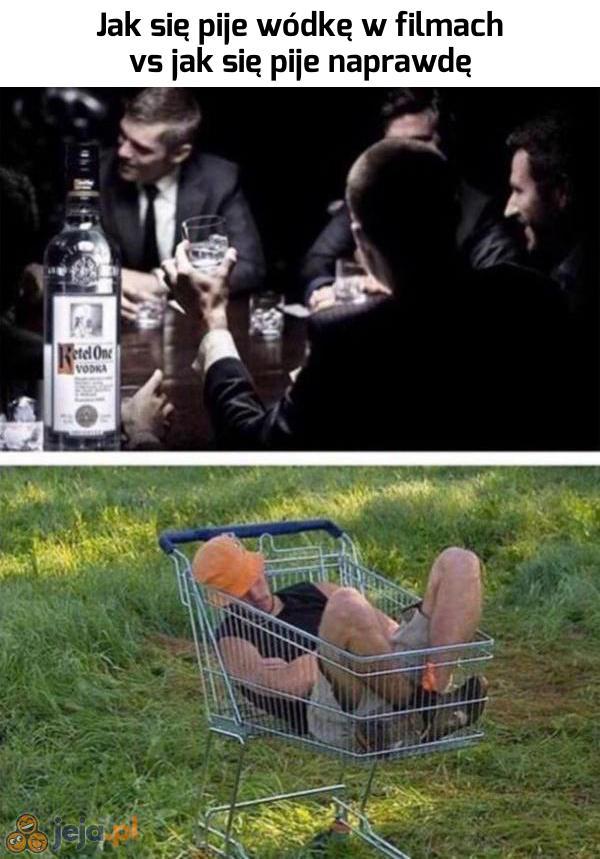 A Ty jak pijesz swoją wódkę?