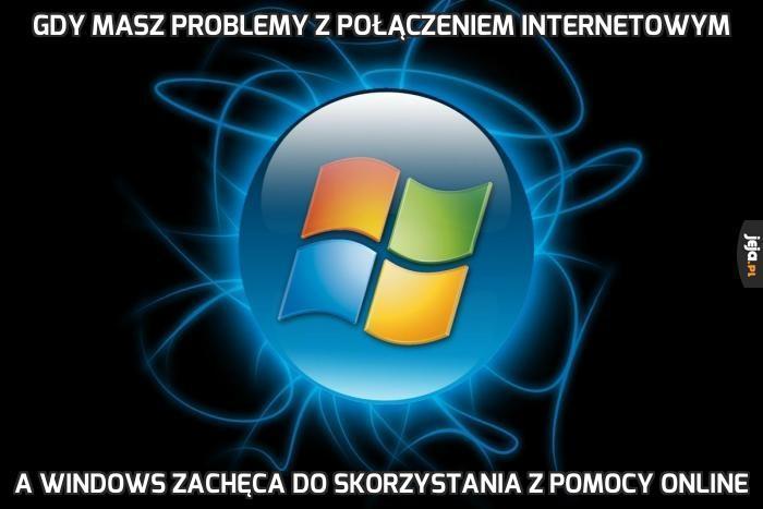 Gdy masz problemy z połączeniem internetowym