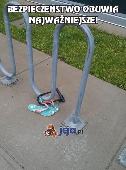 Bezpieczeństwo obuwia najważniejsze!