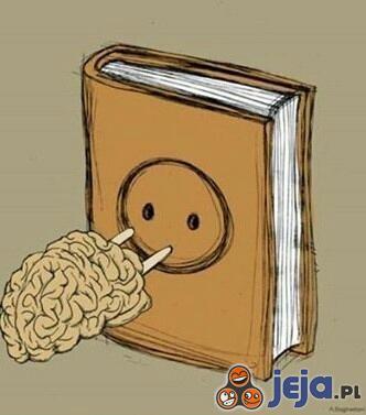 """Czytanie """"włącza"""" wiedzę"""