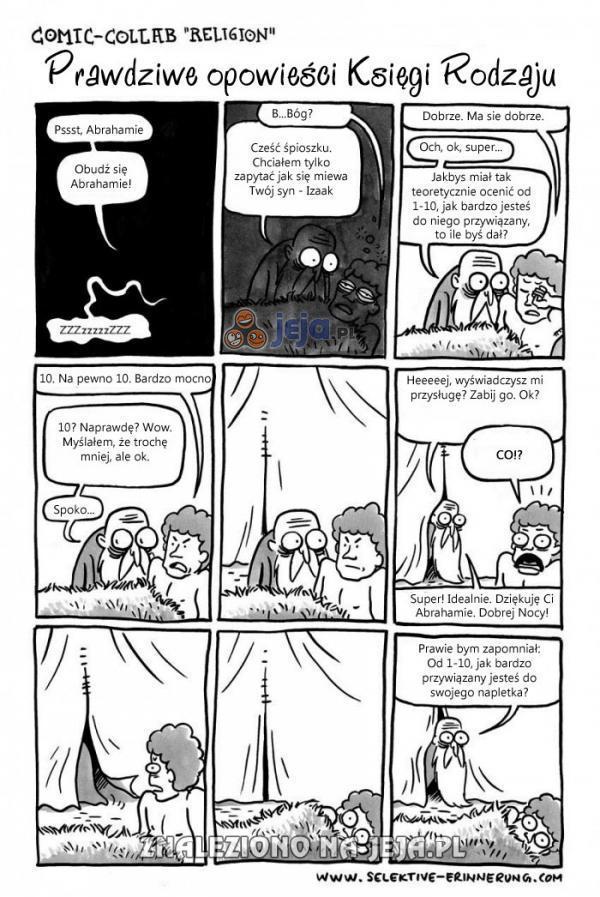 Prawdziwa opowieść o Abrahamie i Izaaku