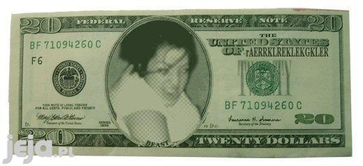 Mosh Girl na dolarze