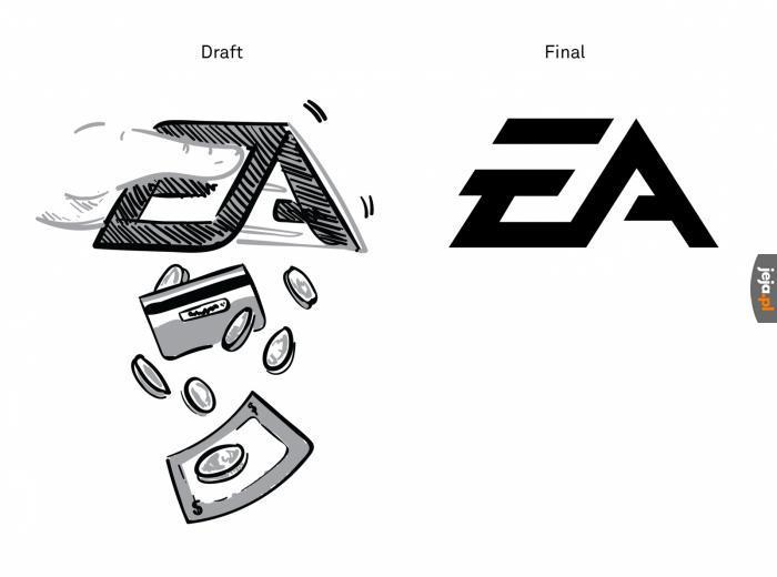 Skąd wzięło się logo EA