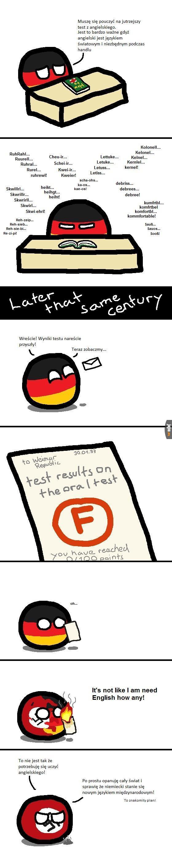 Niemcy uczą się angielskiego