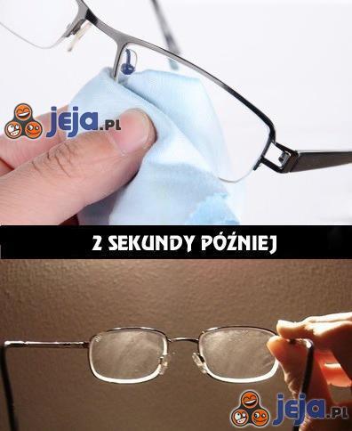 Czyszczenie okularów