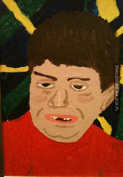 Znalazłem autoportret sprzed 10 lat...