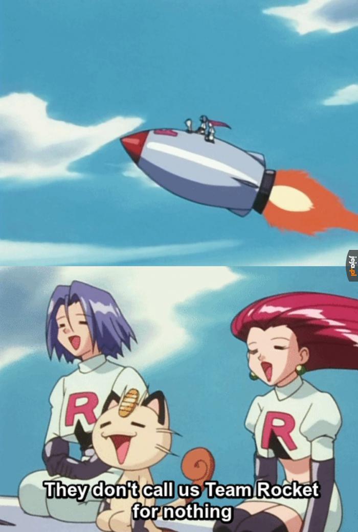 Zespół R jak Rakieta