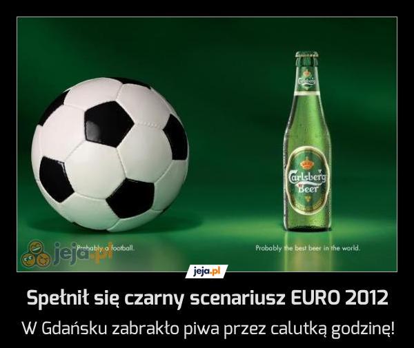 Spełnił się czarny scenariusz EURO 2012