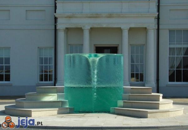 Niesamowita fontanna
