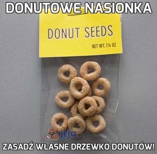 Donutowe nasionka