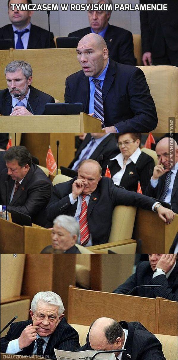 Tymczasem w rosyjskim parlamencie