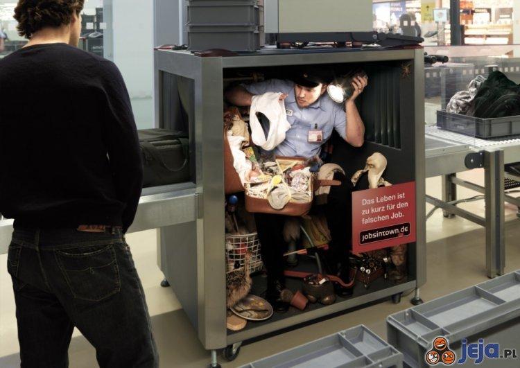 Zła praca - Kontrola bagaży