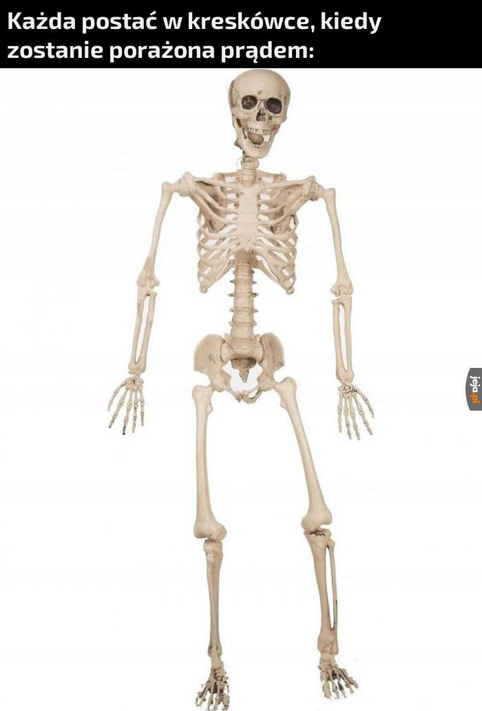 Mięśnie i skóra znikają magicznie