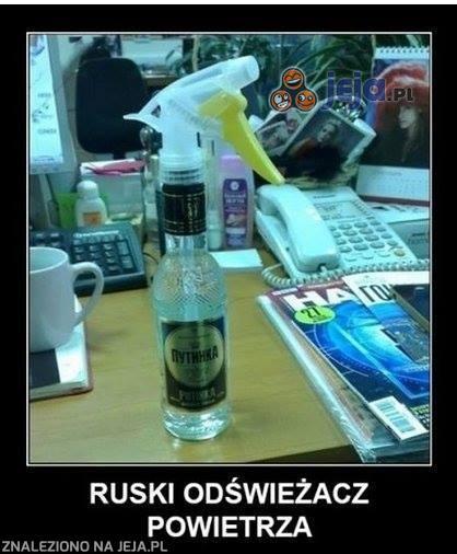 Ruski odświeżacz powietrza