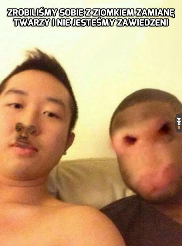 Mój kumpel zawsze miał nosa