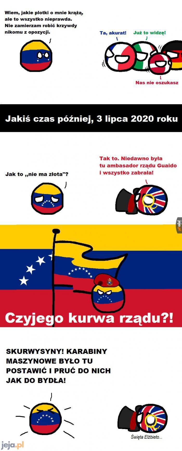 Prawdziwe oblicze Maduro, prezydenta Wenezueli