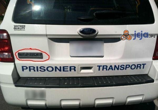Transport więźniów