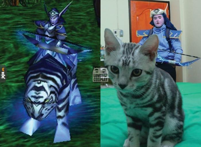Cosplay rodem z Warcrafta