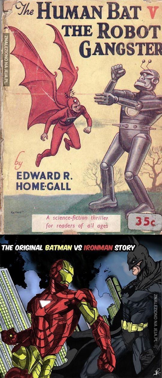 Batman vs Iron Man, zanim to było modne...