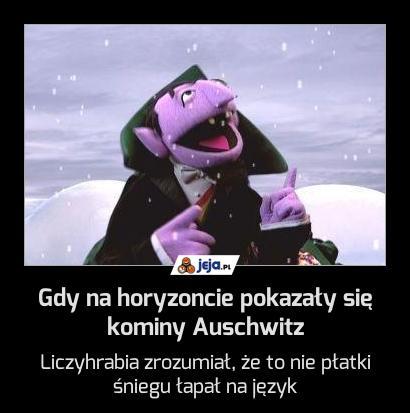 Gdy na horyzoncie pokazały się kominy Auschwitz
