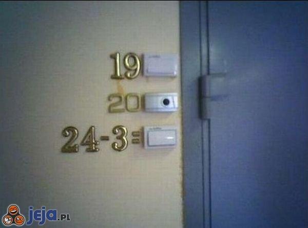 Drzwi matematyka