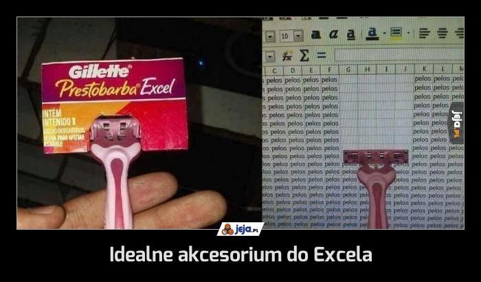 Idealne akcesorium do Excela